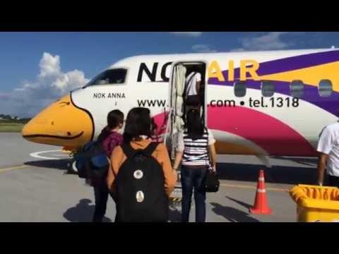 นั่งก่อนใคร! นกแอร์ลำใหม่ล่าสุด Q 400 NextGen ลำแรกของไทย นั่งสบาย กระจกบานใหญ่ เห็นวิวเต็มๆ ตา