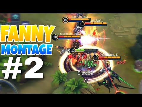 Mobile Legend  Best Moments!?  Fanny Montage #2 Youtube