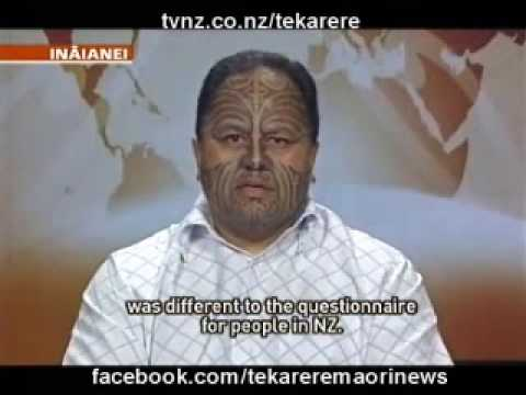 Maori speaking Te Reo has increased in Oz but decreased in NZ
