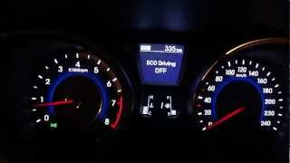Hyundai Elantra 1.6 D CVVT A T Acceleration Down to 180 kph