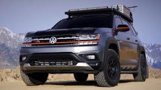 2020 Volkswagen Atlas Basecamp Concept Experience