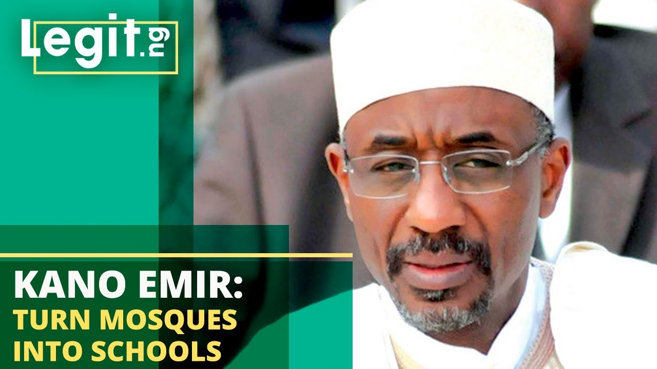 Nigeria Latest News: Emir Sanusi Says Mosques Should be Converted into Schools | Legit TV