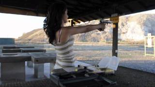 Haley's Target practice with 9mm Ruger, P89