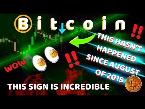 BITCOIN HASN'T DONE THIS SINCE AUGUST 2015 - HUGE HINT REVEALED?? CHECK THIS OUT