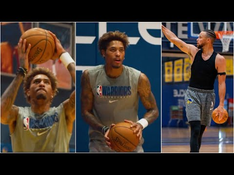 First Look Kelly Oubre Jr. WORKING At The Warriors Facility