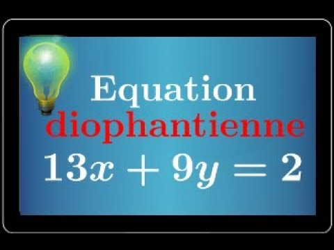 équation diophantienne -