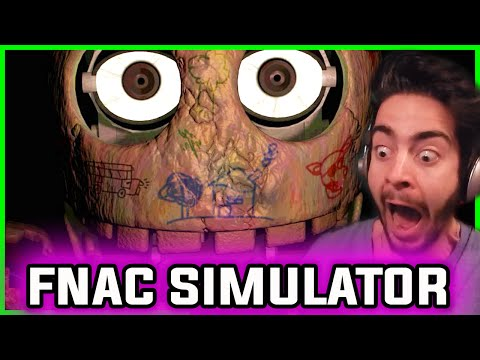 Five Nights at Candy's SIMULATOR | Play as BLANK + All Animatronics | Five Nights at Candy's 2 Hype
