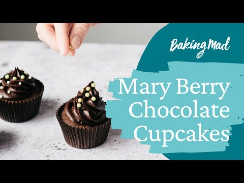 Mary Berry Chocolate Cupcakes Recipe | Baking Mad