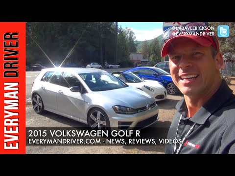 Here's my 2015 Volkswagen Golf R First Drive on Everyman Driver