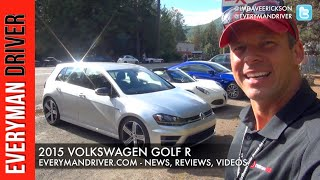 2015 Volkswagen Golf R on Everyman Driver (First Drive)