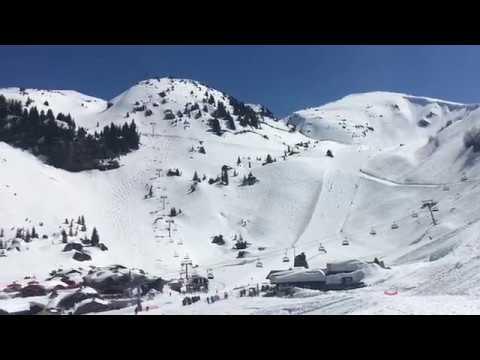 Châtel Snow Report 19 April 2018