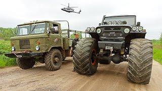 Игрушка или вездеход?! Военный ГАЗ 66 VS УАЗ БИГФУТ
