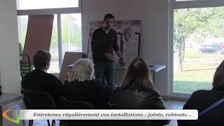 Atelier d'information à Avallon (89). Les éco-gestes