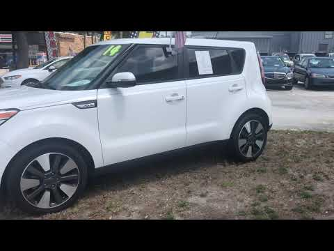 2014 WHITE KIA SOUL ! (KNDJX3A58E7) with an 2.0L engine, Automatic transmission, located at 6921 40th St N, Pinellas Park, FL, 33781, (727) 366-8136, 27.834944, -82.687653 - Photo #0