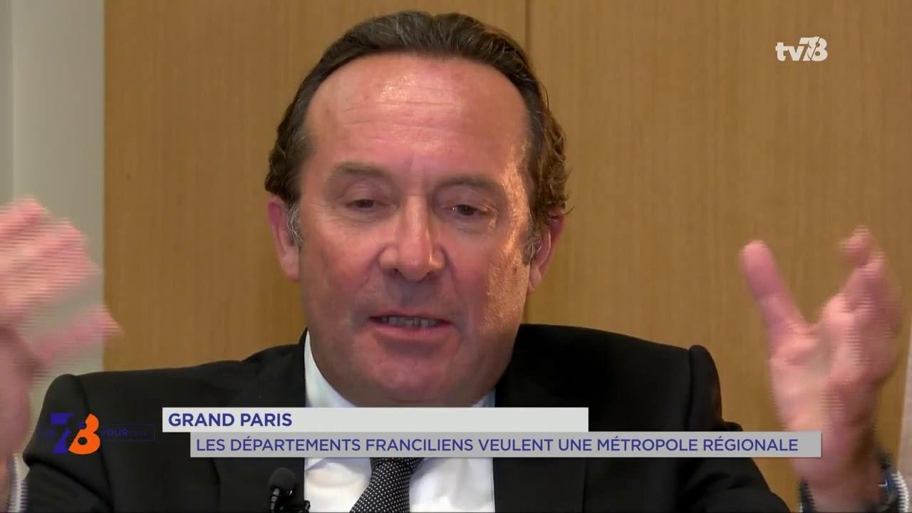 Grand Paris : les départements franciliens veulent une métropole régionale