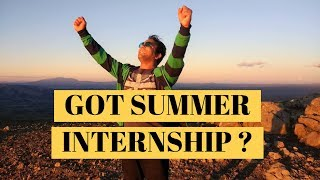 How to Get Summer/Spring Internship | Top 10 Secrets No One Will Ever Tell You