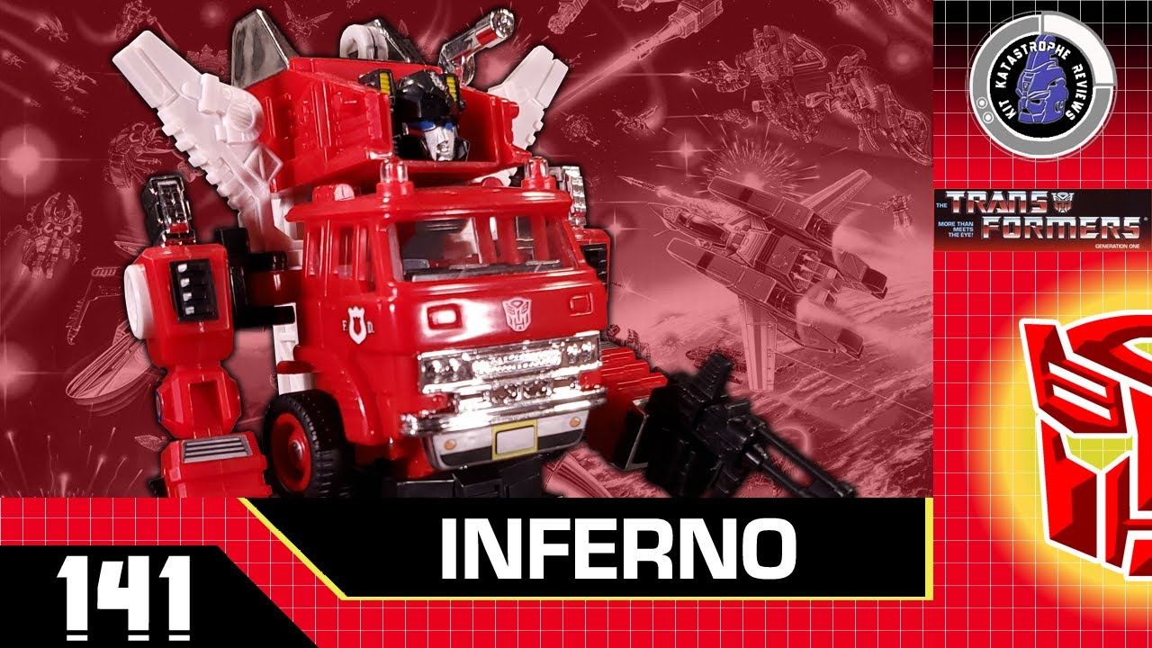 Transformers G1 Collection Inferno Review by Kit Katastrophe