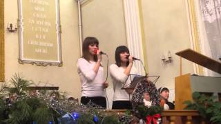 Альфа и Омега прославляют Господа Люба и Алина,г.Кременчуг.