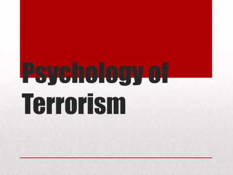 psychology of terrorist group recruitment Until recently, the psychology of terrorism had been largely theoretical finding actual subjects to study was daunting but access to terrorists has increased and a nascent science is taking shape.