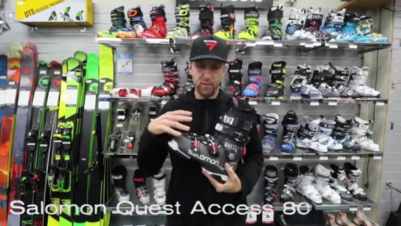 Salomon Quest Access 80 2015 ski boot review