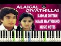 Download (Ilayaraja) Kadal Oviyam - Maathe Manthramo - Piano Notes - MIDI - Sheet Music MP3 song and Music Video