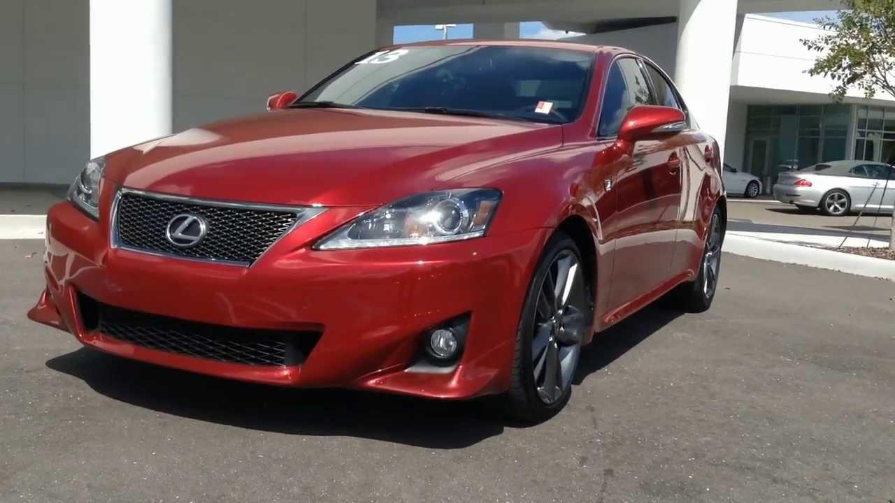 2013 Lexus IS 250 F-Sport For Sale In Tampa Bay