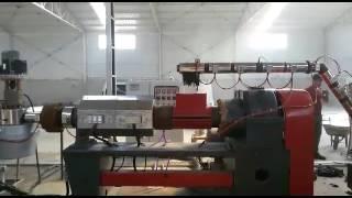 Pe Pp  akıtmalı granül makinası satlık 750 kg