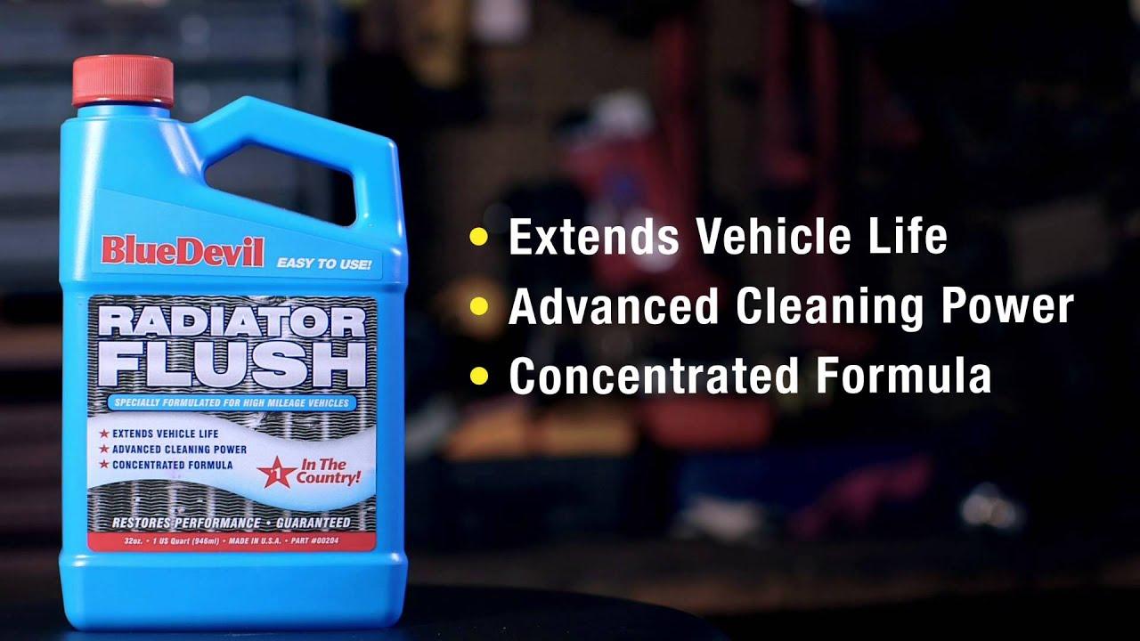 Bluedevil Radiator Flush Product Spotlight 2 Youtube