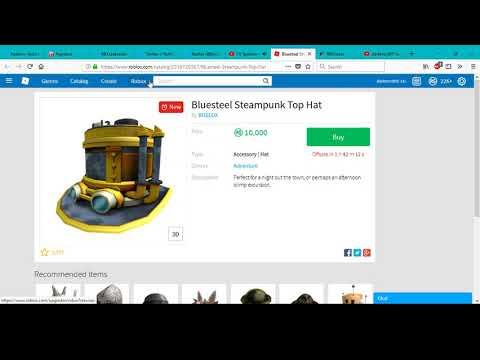 Should I Buy Bluesteel Steampunk Top Hat? | Roblox
