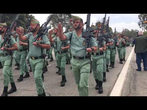 Desfile Legion Española, 96 aniversario. 2016. Brigada de La Legion. Viator, Almeria. 2016.