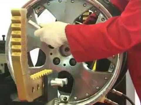 jumbo rim, wheel straightener.flv