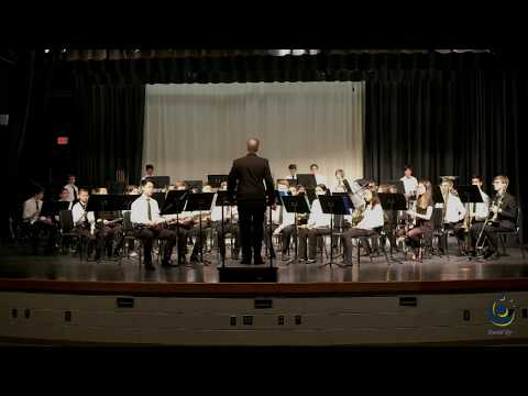 Cary Academy Concert Band performs Pinnacle on 3/19/2019