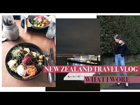 New Zealand Travel VLOG + What I Wore | Mademoiselle