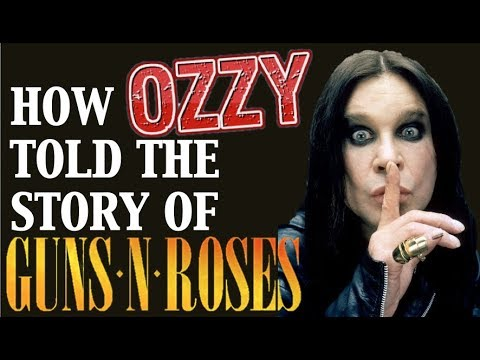 How Ozzy Osbourne Told the Story of Guns N' Roses! Crucify The Dead!