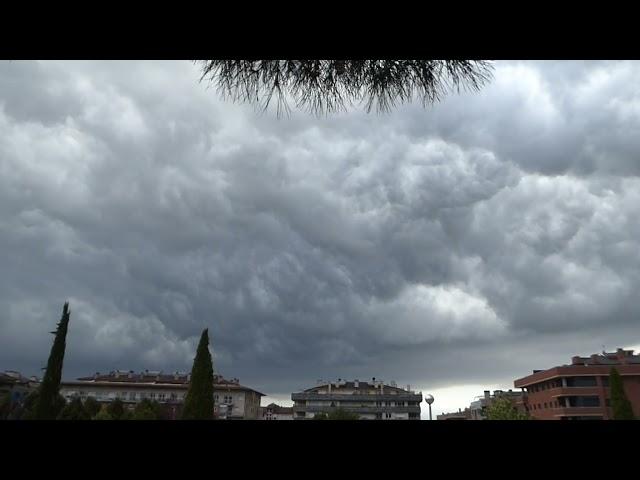Núvols espectaculars a Osona - Vic - Agost 2021