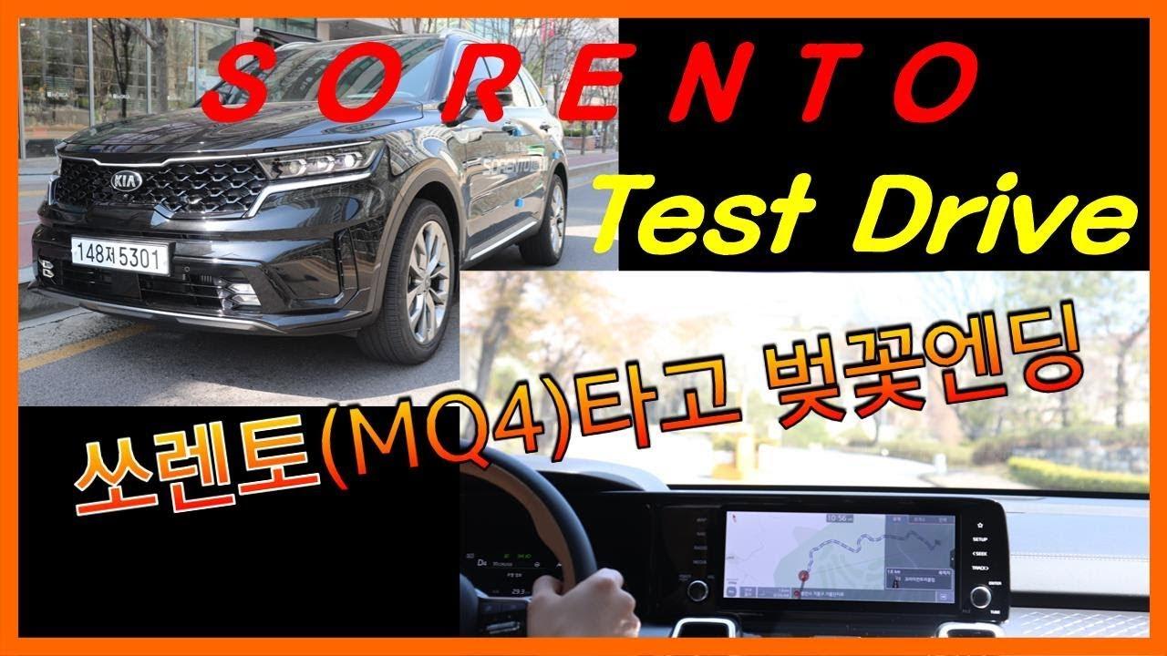 The 4th Generation KIA 'SORENTO' Test Drive - 기아 '쏘렌토(MQ4)'타고 벚꽃 엔딩