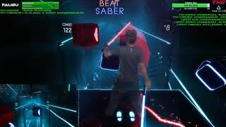Highlight: Beat Saber VR! Mixed Reality Country Rounds / Hard / Full Combo | Day 3 - Episode 1
