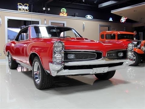 1967 pontiac gto test drive classic muscle car for sale in