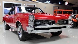 1967 Pontiac GTO Test Drive Classic Muscle Car for Sale in MI Vanguard Motor Sales