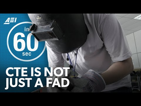 Career and technical education: More than just a fad?   IN 60 SECONDS