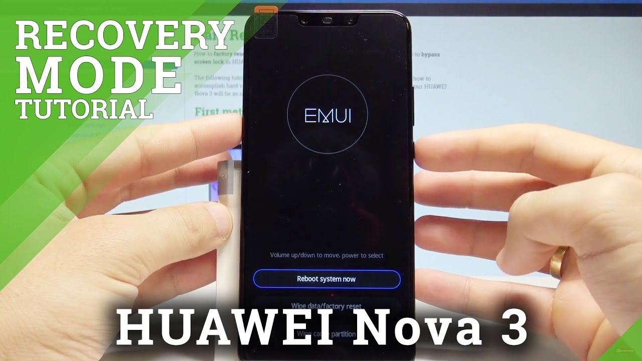 HUAWEI Nova 3 EMUI Mode / Hidden Menu / Recovery Mode