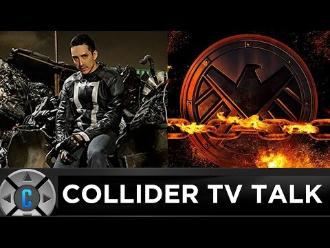 First Look At Ghost Rider On Agents of SHIELD, Stranger Things Season 2 Details - Collider TV Talk