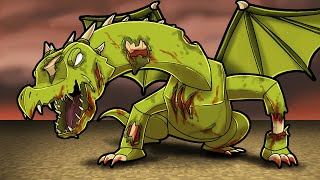 Zombie INFECTED Dragons! (Minecraft Dragons)