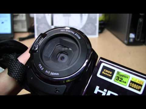 Sereer HDV-501 infrared night vision camcorder review & test