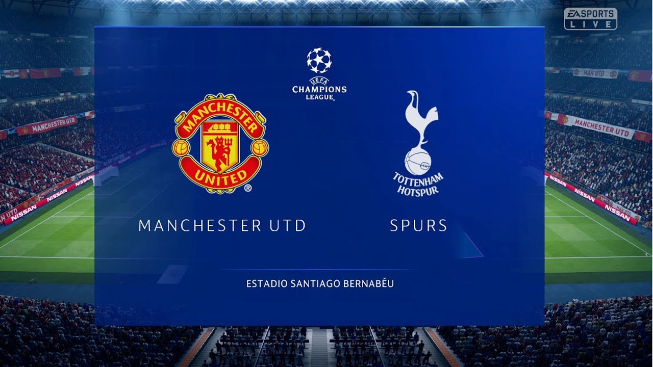 Download FIFA 19 - Manchester United Vs Tottenham FULL GAMEPLAY