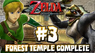 The Legend of Zelda Twilight Princess HD - (1440p) Part 3 - Forest Temple & Diababa