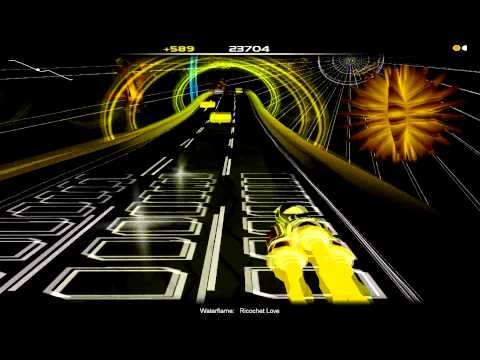 Audiosurf - Waterflame - Ricochet Love