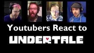 youtubers react to undertale markiplier jacksepticeye marriland hadriex