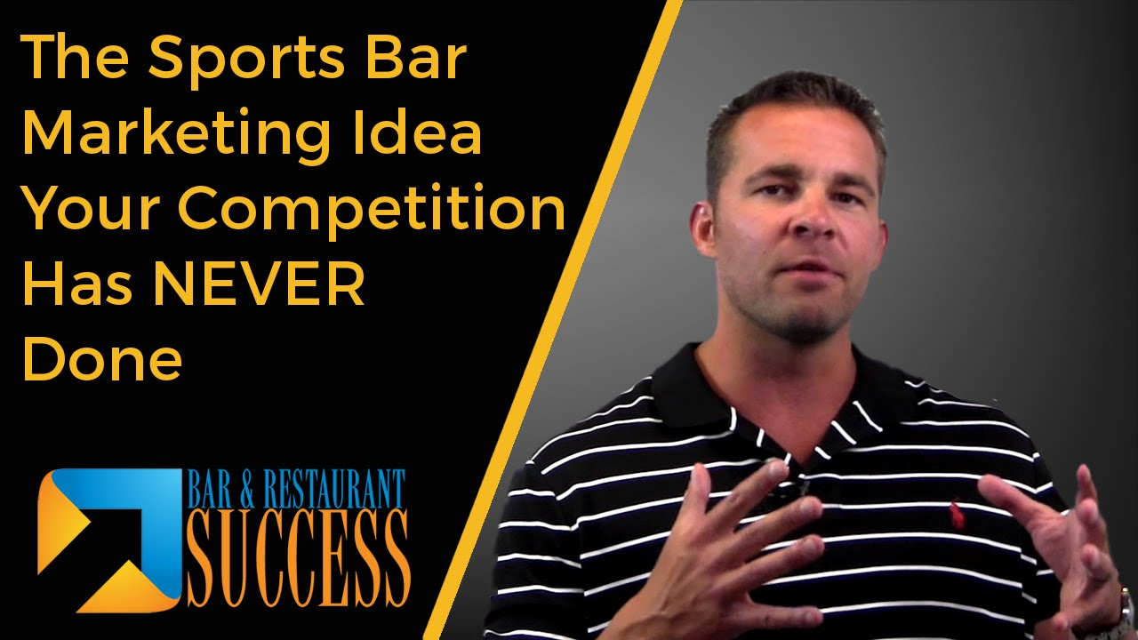 The Sports Bar Marketing Idea Your Competition Has NEVER Done