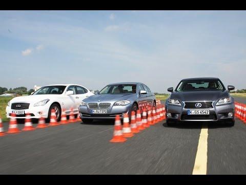 Infiniti, BMW, Lexus, Mercedes - Oberklasse mit Hybrid